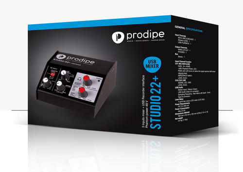 Interface audio USB Studio 22 +