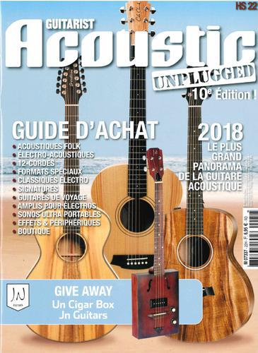 Couverture Guide achat 2018 - Guitarist Acoustic Unplugged