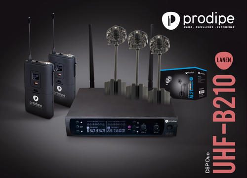 PACK UHF DSP AL21 DUO