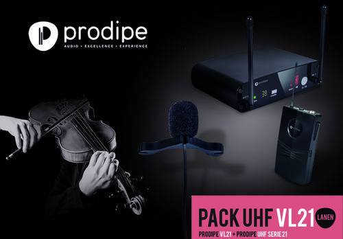 Pack UHF VL21 Violons & Altos